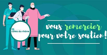 LA CLINIQUE DES CÔTES DU RHÔNE REMERCIE TOUS SES DONATEURS